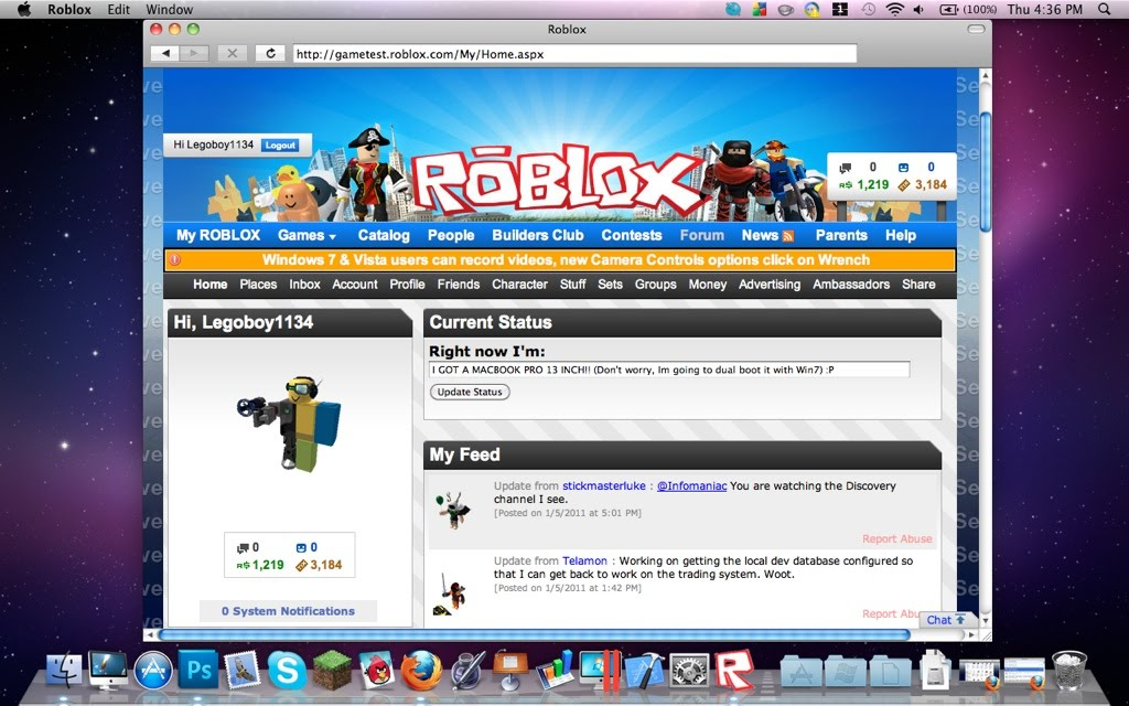 Roblox Mac Pro | Free Robux Unblocked