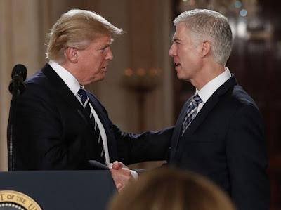 How President Donald  Trump found his Supreme Court Judge nominee