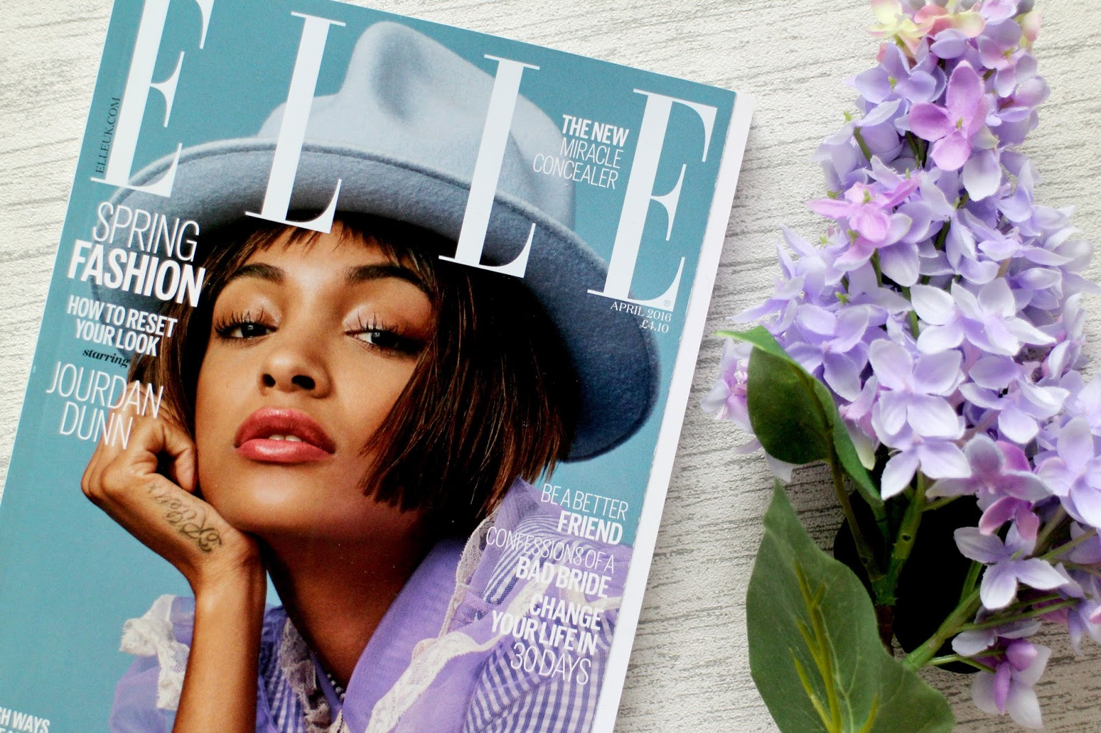 Elle Magazine Free With Look Fantastic Beauty Box