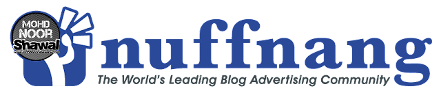 Kenapa Earning Nuffnang Lambat Naik ? Kenapa Iklan Nuffnang Tidak Muncul Dalam Blog ?