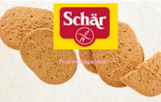 Logo Schar : 500 confezioni biscotti solo per le più veloci