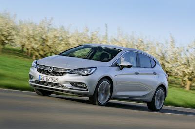 Νέο Opel Astra BiTurbo Hatchback