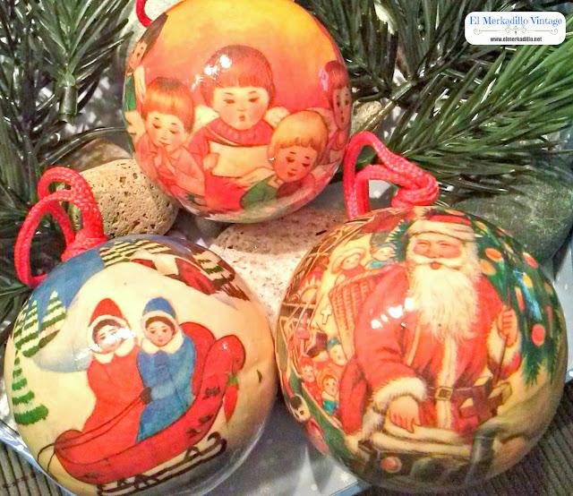 Adornos de Navidad Retro Vintage