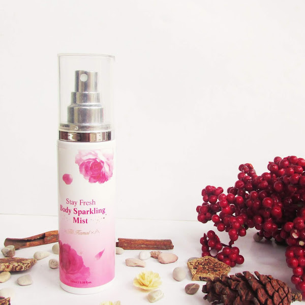Review Stay Fresh Body Sparkling Mist by Titi Kamal X Althea