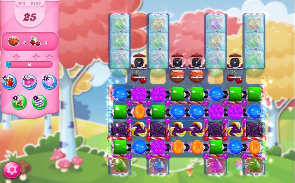 Candy Crush Saga level 6108
