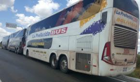 Polícia investiga se Bolívia mandou ônibus para ato pró-Dilma