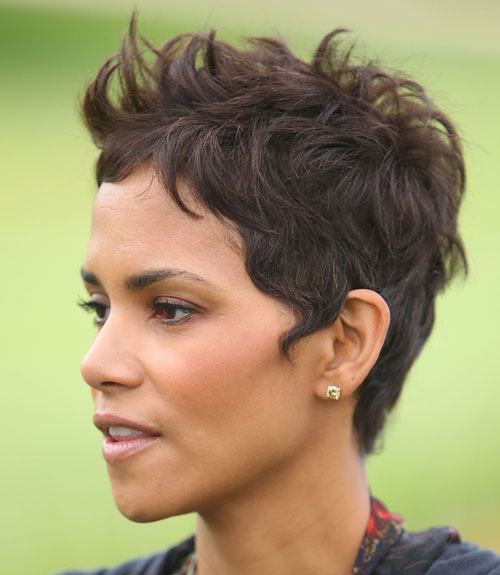 So Fab Hairstyles Short Hairstyles Halle Berry