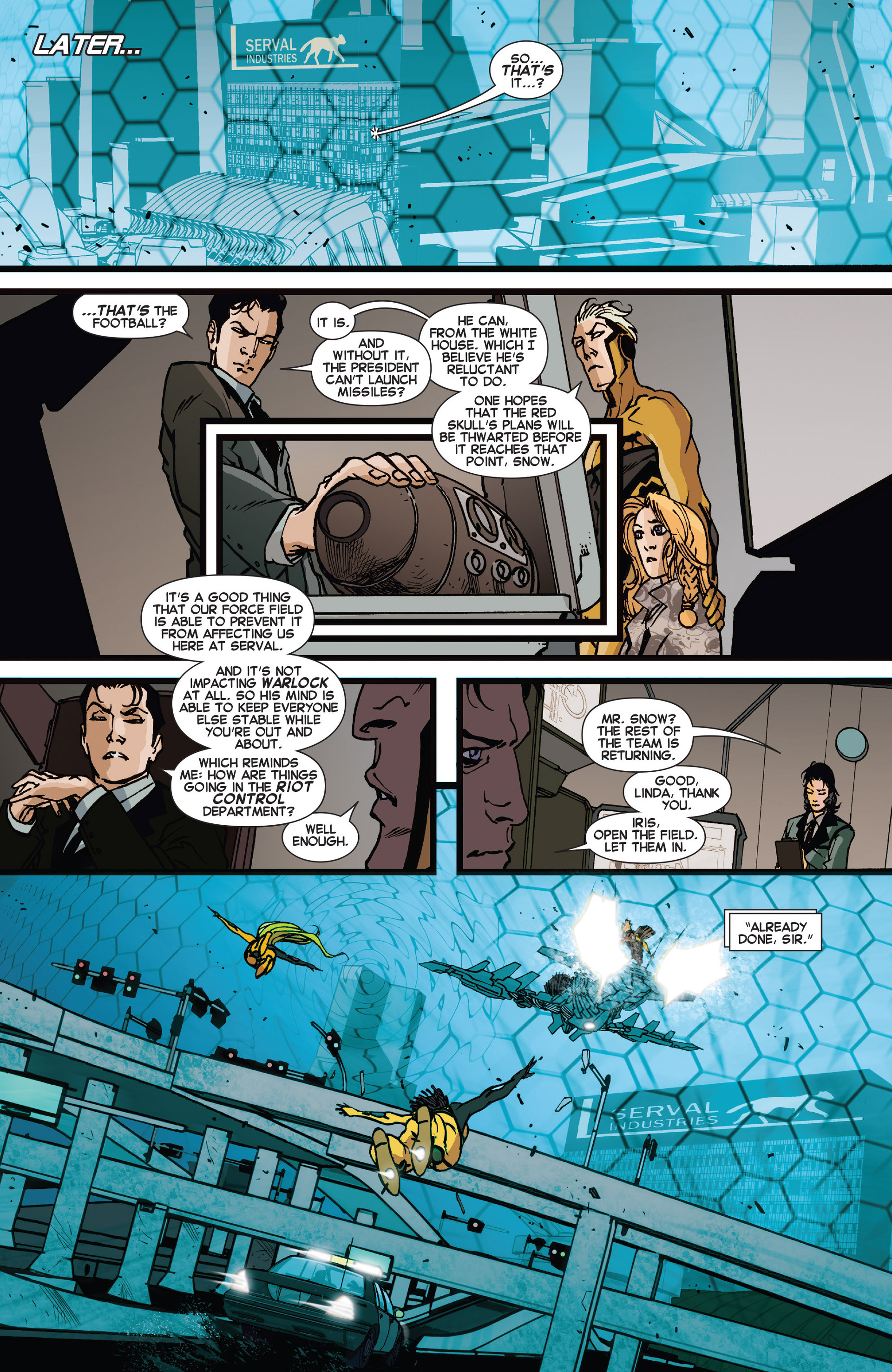 Read online All-New X-Factor comic -  Issue #15 - 19