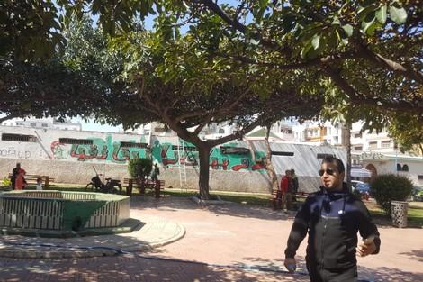 انطلاق حملة لتنظيف حدائق وسط البيضاء آنفا