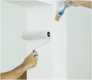 Como prepara paredes novas para pinturas