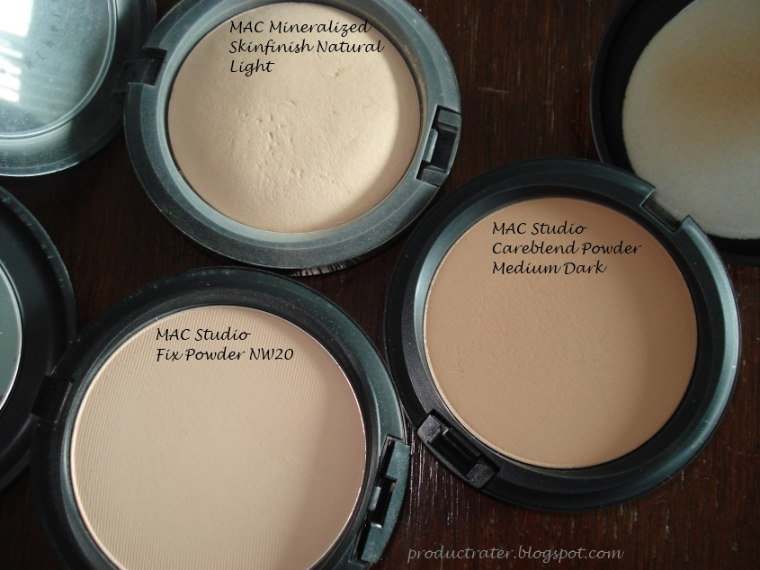 Productrater! Review MAC Studio Careblend Pressed Powder
