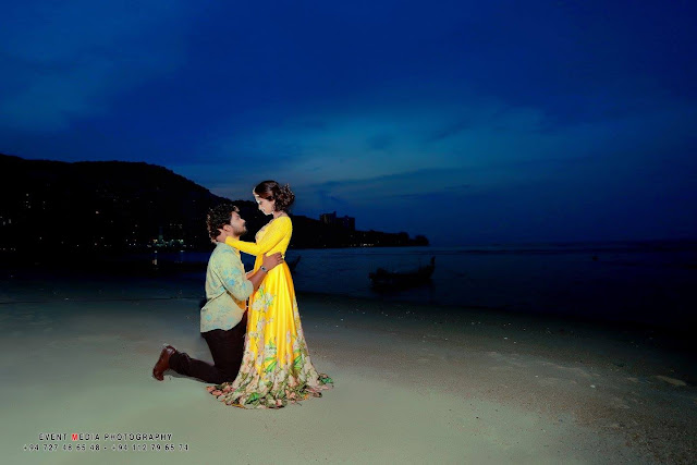 Harshana Bethmage & Volga Kalpani  Pre Wedding Photo Shoot