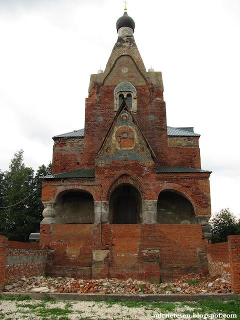 Серафимовская церквоь в Федино