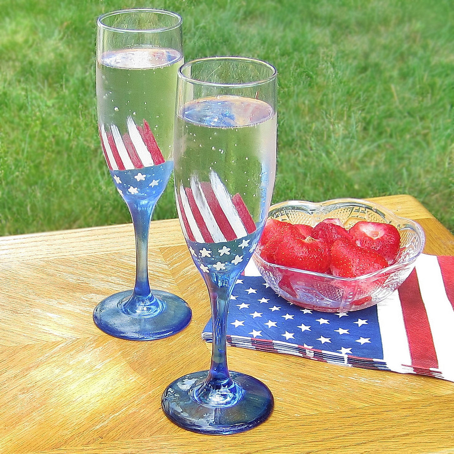 Image result for patriotic glassware and dishes