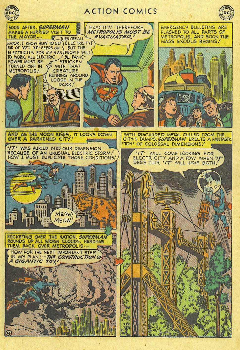Action Comics (1938) 162 Page 9