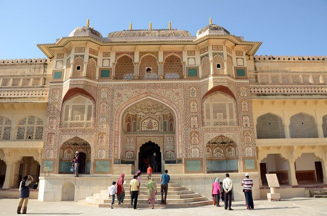 Amber Fort, Jaipur  IMAGES, GIF, ANIMATED GIF, WALLPAPER, STICKER FOR WHATSAPP & FACEBOOK