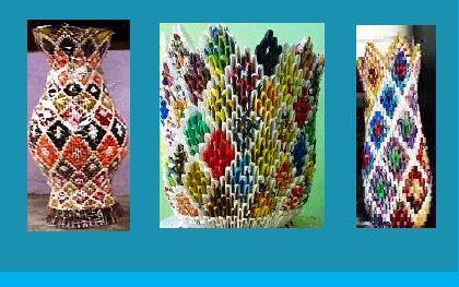 Cara Membuat Guci Dan Vas Bunga Dari Kertas Bekas Padahakan