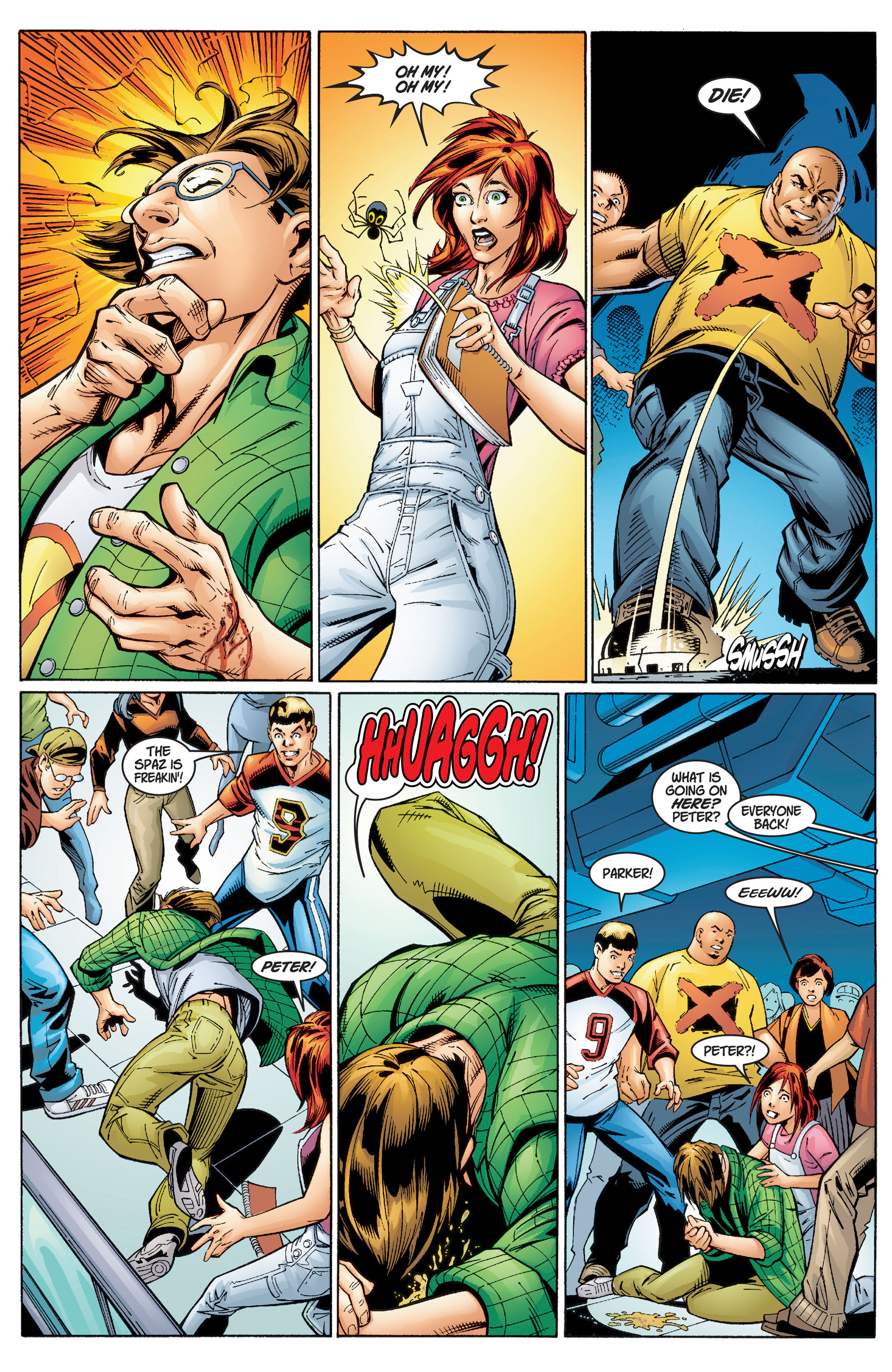 Read online Ultimate Spider-Man (2000) comic -  Issue #1 - 22