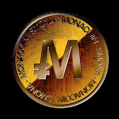 MonaCoin裏面のフリー素材(銅貨ver)