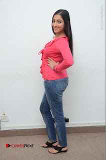 Telugu Actress Mouryani Latest Pos in Blue Denim Jeans  0204.JPG