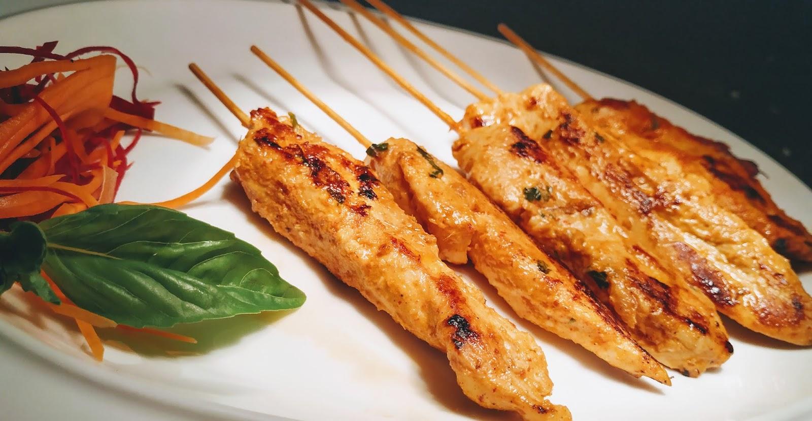 Homemade Chicken Satay Recipe