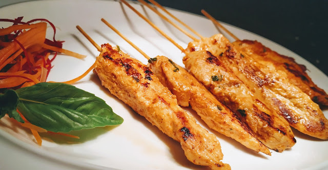 Homestyle chicken satay recipe