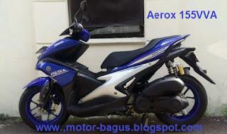 Pasaran harga motor Yamaha Aerox 155 cc bekas