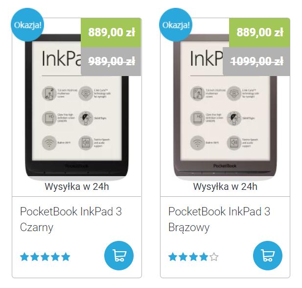 PocketBook InkPad 3 na czytio.pl