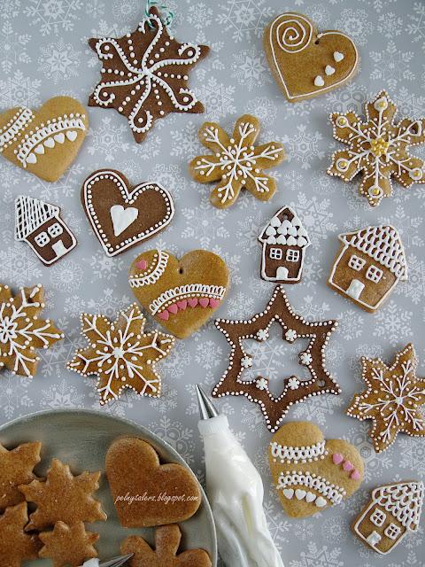 lukier do dekoracji świątecznych pierników