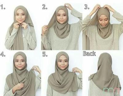 Seorang perempuan muslimah pastinya tidak luput dengan gaya berbusana dengan paduan hijab un 27+ Cara Memakai Hijab Pashmina Terbaru 2018: Simpel & Modern