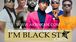 Kuami Eugene, Kidi, Edem, MzVee, Yaa Pono, Fancy Gadam, Adina – We Are Black Stars