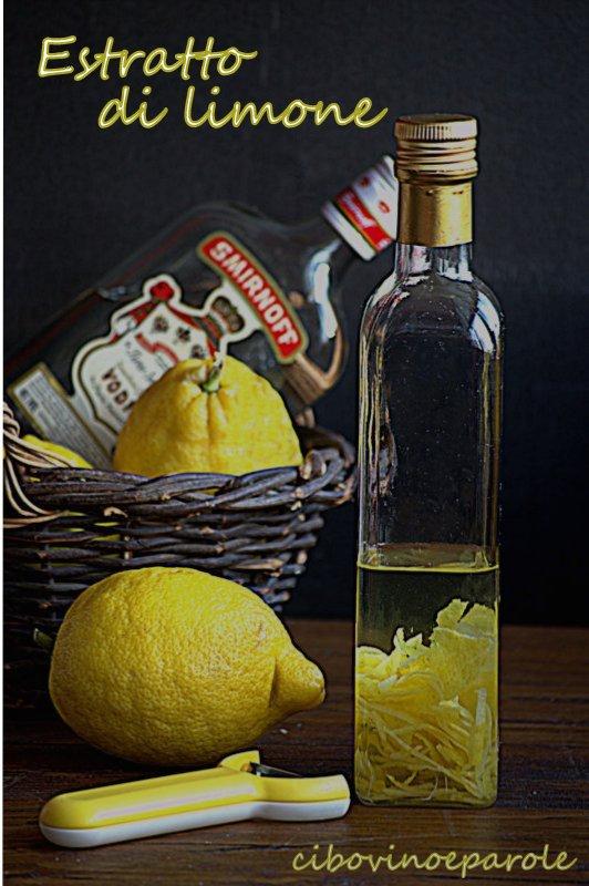 estratto di limone ricetta