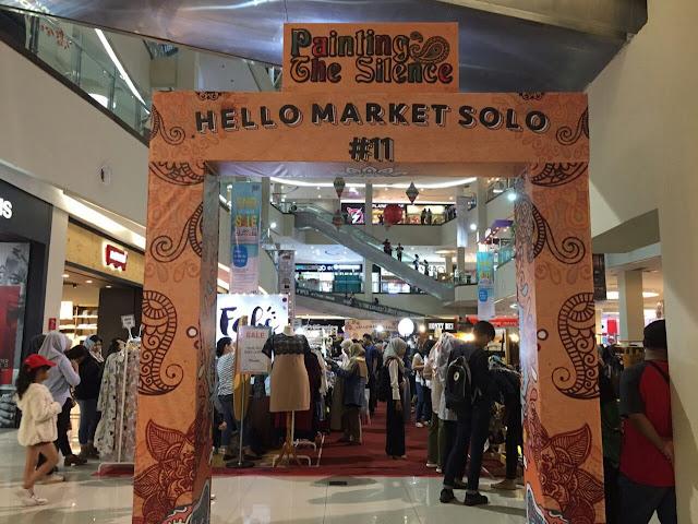 Masyarakat Sambut Baik Hello Market Solo