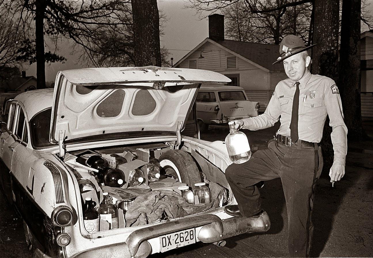 Just A Car Guy: Moonshine runner Pontiac
