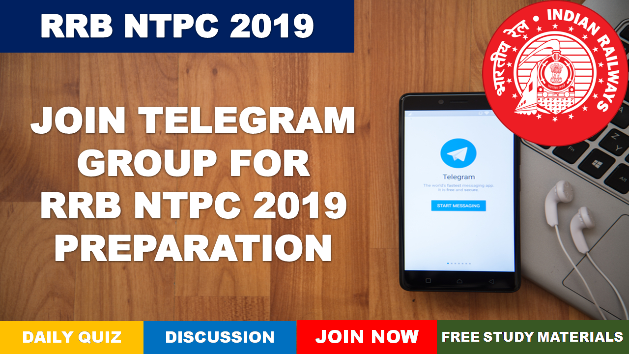 RRB NTPC 2019 Telegram Group