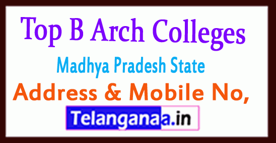 Top B Arch Colleges in Madhya Pradesh