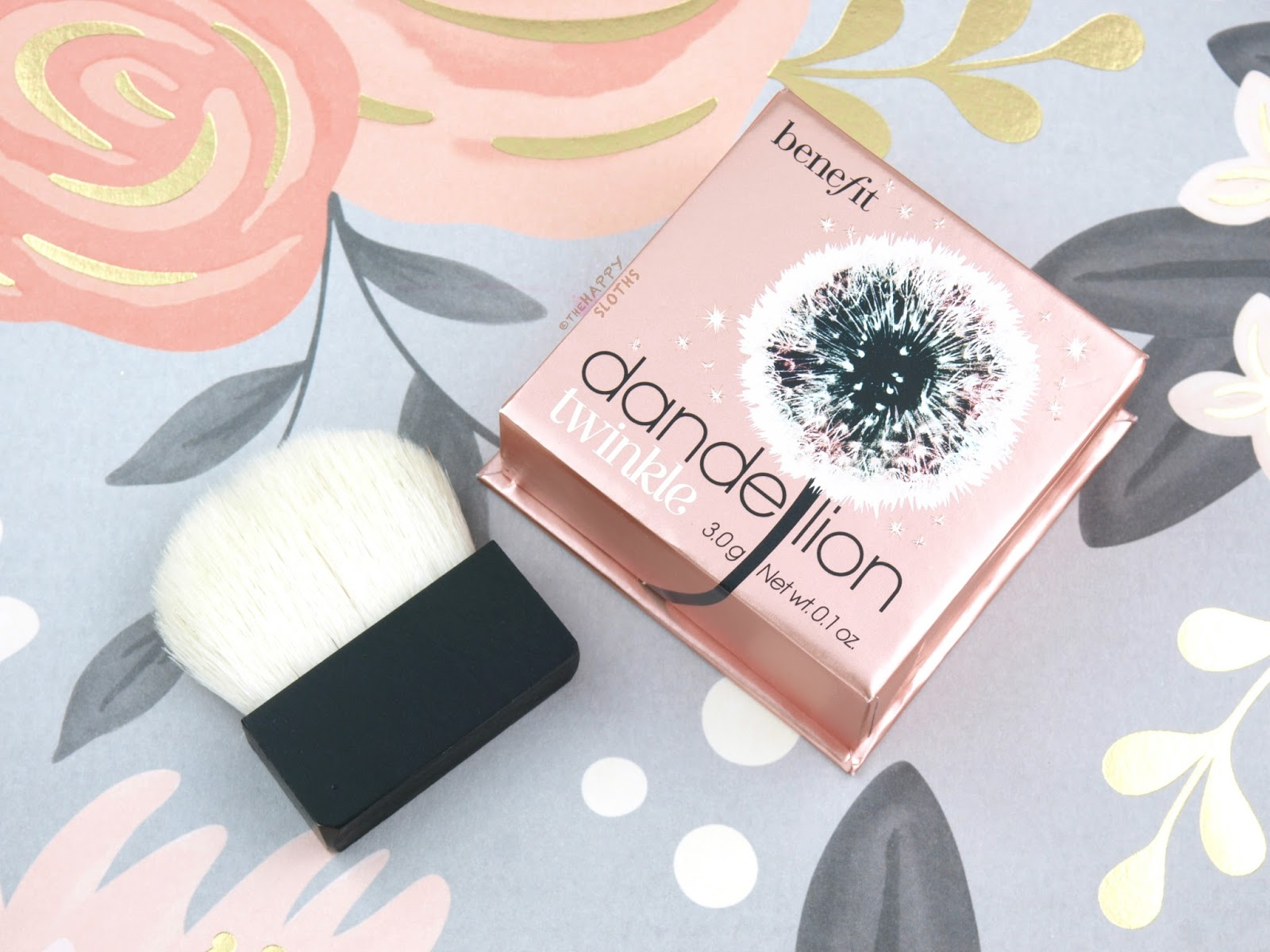 Benefit Dandelion Twinkle Highlighter: Review and Swatches | The ...