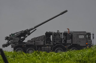 Howitzer swa gerak Type 19 155mm
