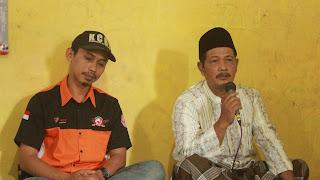 Sambutan oleh perwakilan Yayasan Al Mustajab