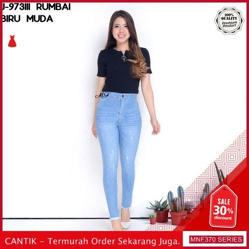 MNF370J100 Jeans Rumbai Wanita 973111 Denim Highwaist Skinny 2019 BMGShop