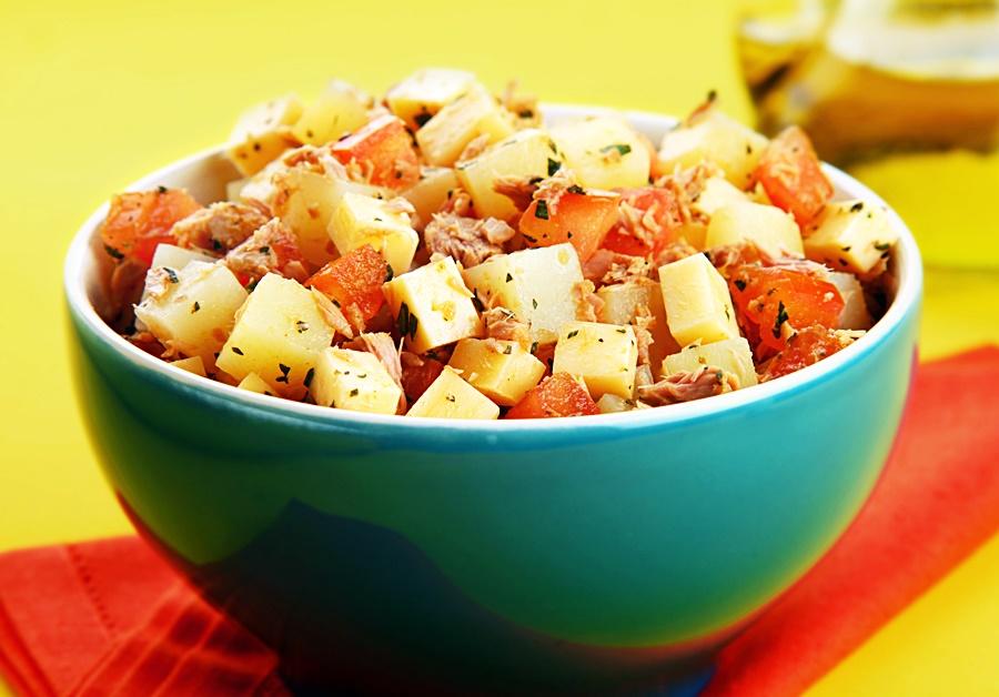 Receita: Salada de Batata com Atum!