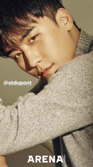 BIGBANG Seungri for Arena Homme+ Magazine November Issue