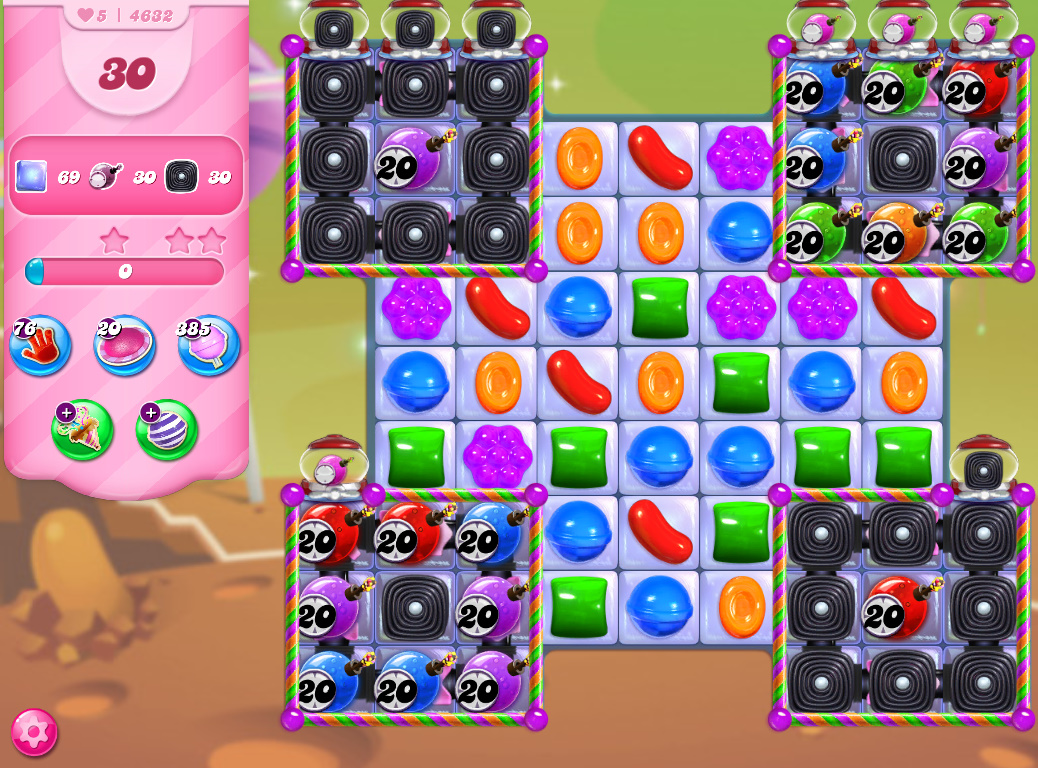 Candy Crush Saga level 4632