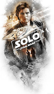 Solo: A Star Wars Story Lithograph Print by Dark Ink Art x Steve Anderson