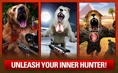Deer Hunter Classic MOD APK v3.9.1 for Android HACK Unlimited Money All Currencies  Update Terbaru 2018