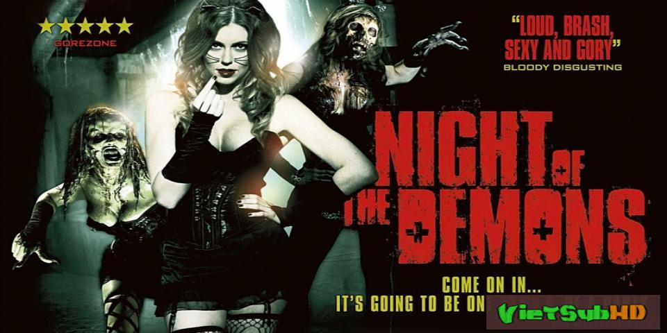 Phim Đêm Của Quỷ Dữ (lâu Đài Ma Quái) VietSub HD | Night Of The Demons 2009