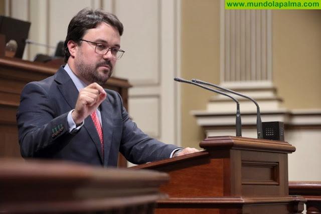 """Asier Antona """"La sentencia del TC abre las puertas al desarrollo turístico en La Palma"""""""
