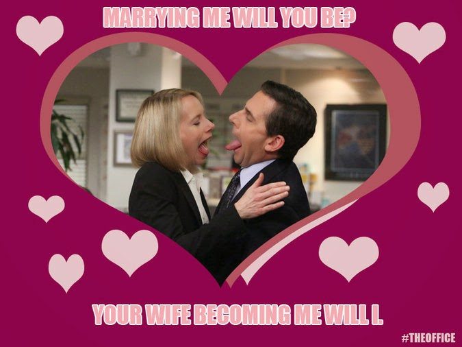 The Office Isms Celebrate Valentines Day With The Office