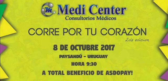 10k 5k 3k Corre por tu corazón (Paysandú, 08/oct/2017)