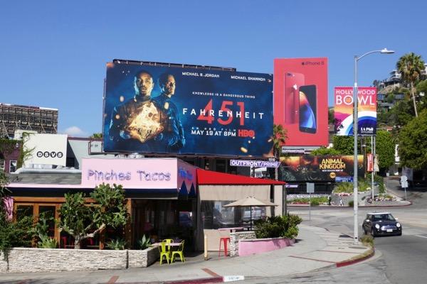 Fahrenheit 451 billboard